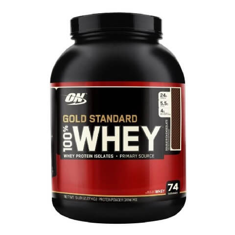 On Whey,5-lb double-rich-chocolate ,Shaker Free!