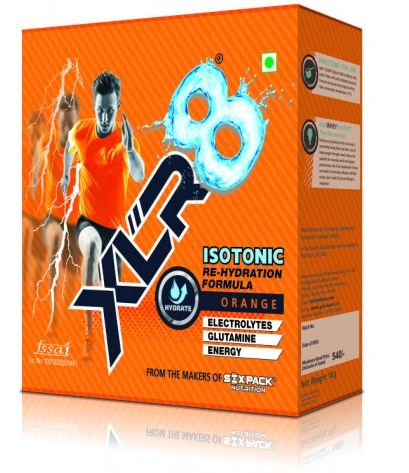 Six Pack XLR8,1-kg orange ,-