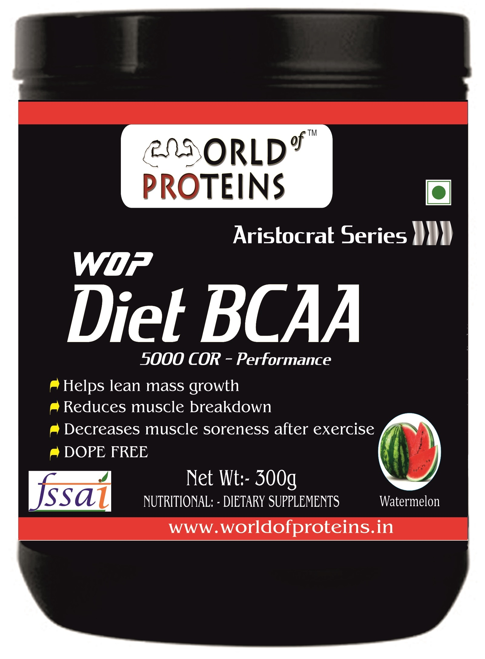 WOP Diet BCAA,300-g watermelon