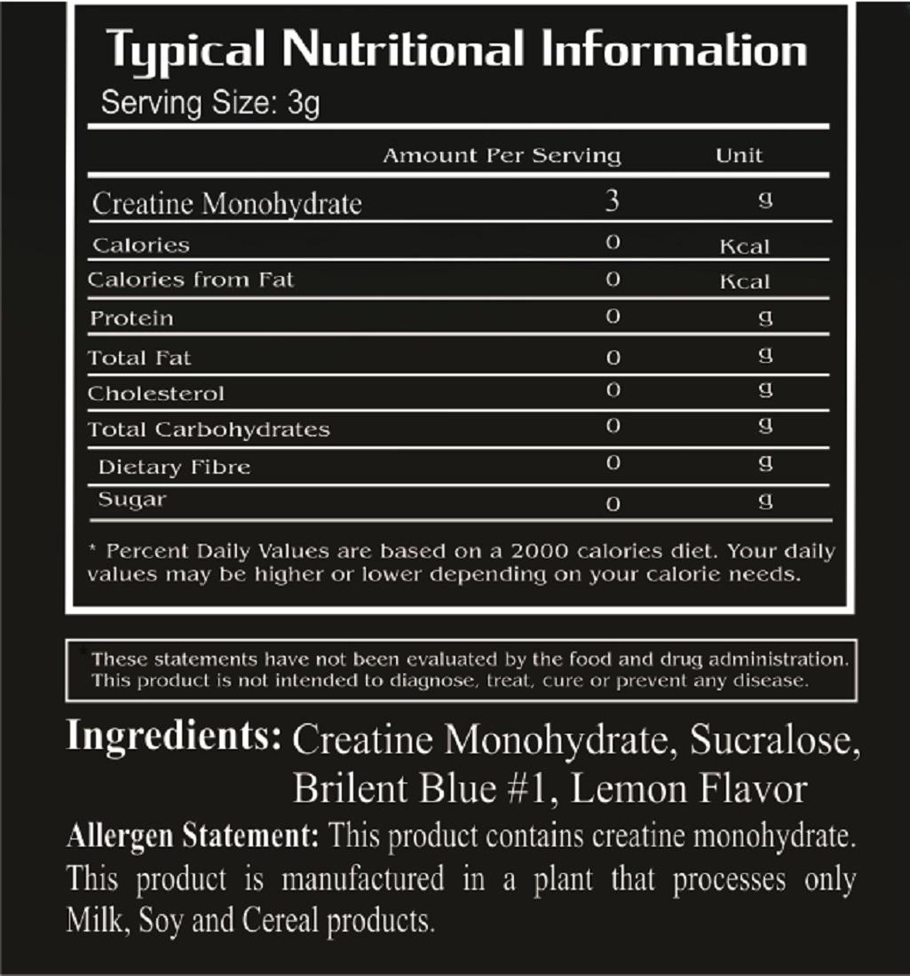 WOP Muscle Crea,300-g blue-lemon