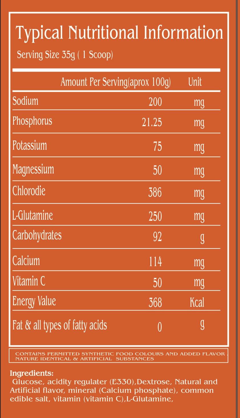 WOP #Insta Charge,1-kg orange ,-